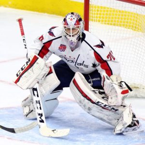 Capitals netminder Braden Holtby thrives on a high workload (Amy Irvin / The Hockey Writers)