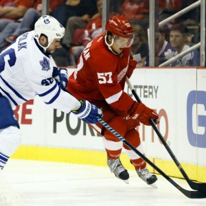 Mitch Callahan of the Detroit Red Wings