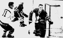 50 Years Ago in Hockey - Rookie Goaler Bests Leafs