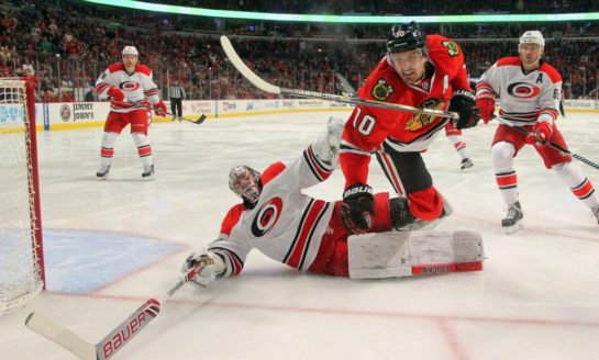 Hurricanes' Ward Says There Was No Message