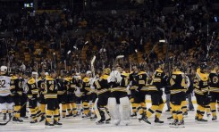 Bruins Headed Home with Chance to Earn Playoff Buffer