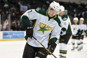 Cole Ully has put up numbers not usually seen among 5th-round picks (Michael Connell/Texas Stars Hockey)