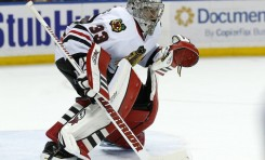Hockey News: Scott Darling Shines; P.K. Subban Ejected