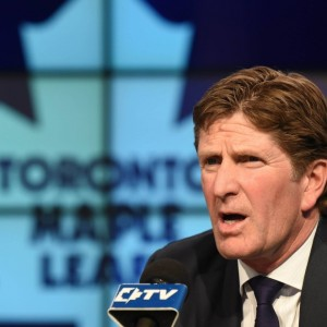 Mike Babcock will truly hold Leafs players accountable, something that hasn't been enforced since the days of Pat Quinn and Pat Burns behind the bench. (Dan Hamilton-USA TODAY Sports)