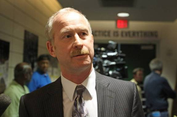 Former Detroit Red Wings Assistant GM Jim Nill.