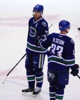Henrik and Daniel Sedin Canucks