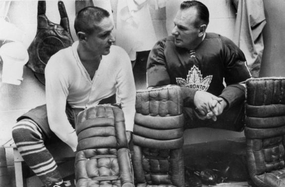 Terry Sawchuk, Johnny Bower
