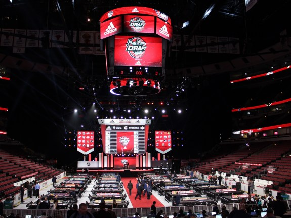 2017 NHL Draft floor