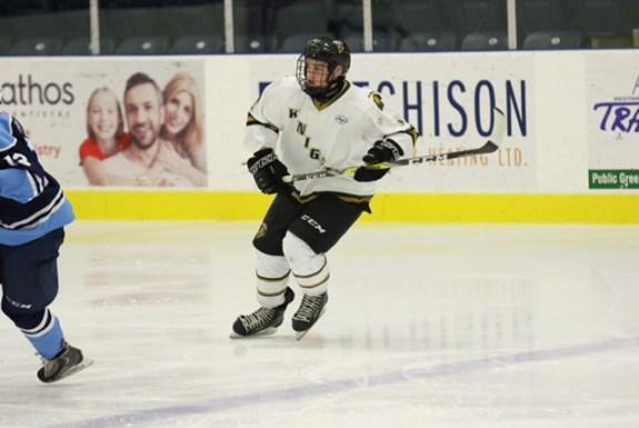 Brett Budgell, London Jr. Knights, Alliance Hockey