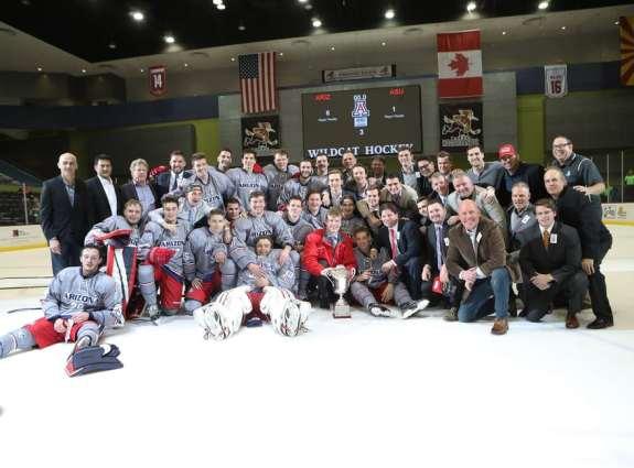 ASU v UofA Hockey