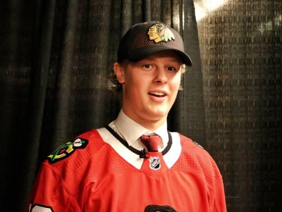 Adam Boqvist Blackhawks