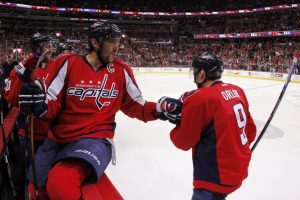 Orlov and Ovechkin are currently playing for Team Russia at the World Cup. (Geoff Burke-USA TODAY Sports)