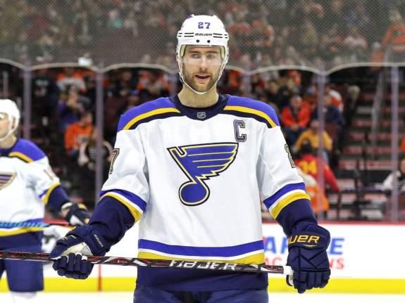 Alex Pietrangelo St. Louis Blues