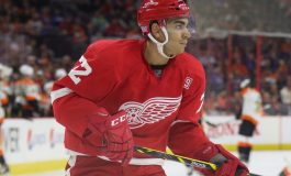 Red Wings Sign Andreas Athanasiou