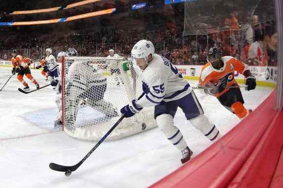Andreas Borgman, Maple Leafs