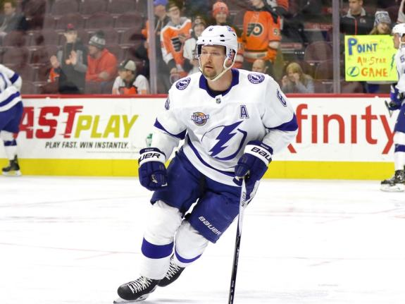 Anton Stralman #6, Tampa Bay Lightning