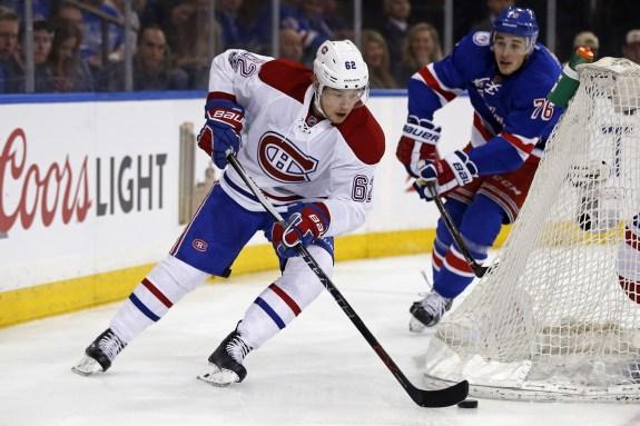 Montreal Canadiens Rebuild - left wing Artturi Lehkonen