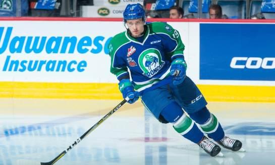 Capitals' Prospect Malenstyn & His Wild Season