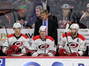 Carolina Hurricanes head coach Bill Peters