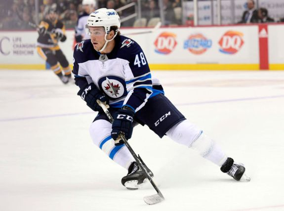 Jets Left Wing Brendan Lemieux