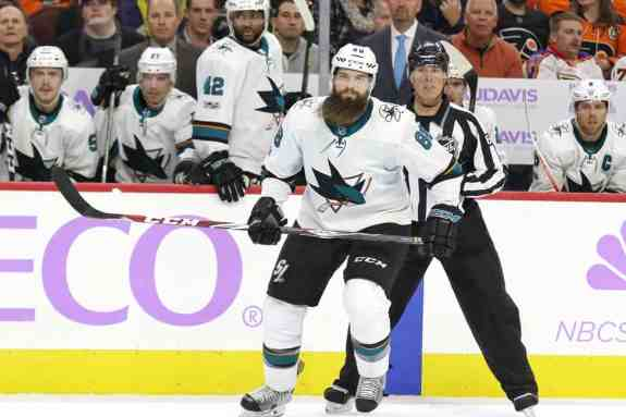 Brent Burns Sharks