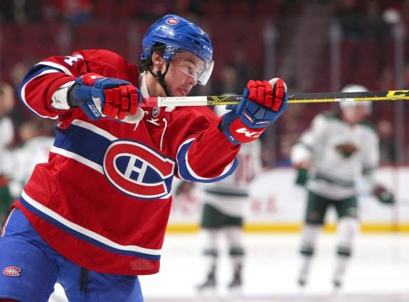 Montreal Canadiens forward Charles Hudon