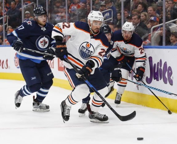 Edmonton Oilers forward Chris Kelly