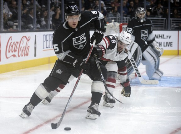 Los Angeles Kings defenseman Christian Folin