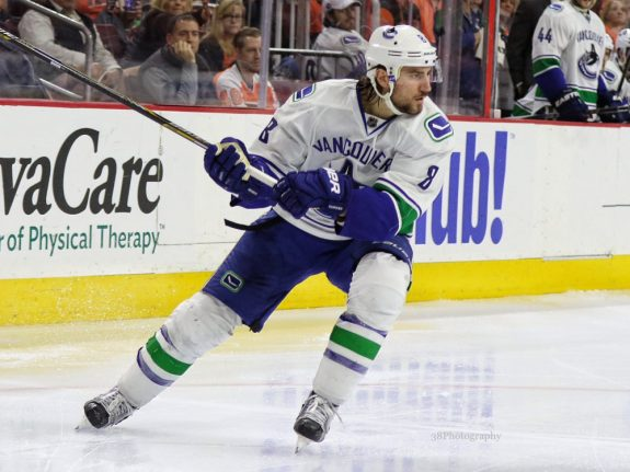 Vancouver Canucks Chris Tanev