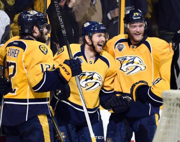 Nashville Predators leaning heavily on defense corps against Penguins