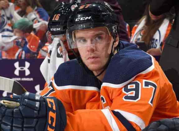 Connor McDavid of the Edmonton Oilers