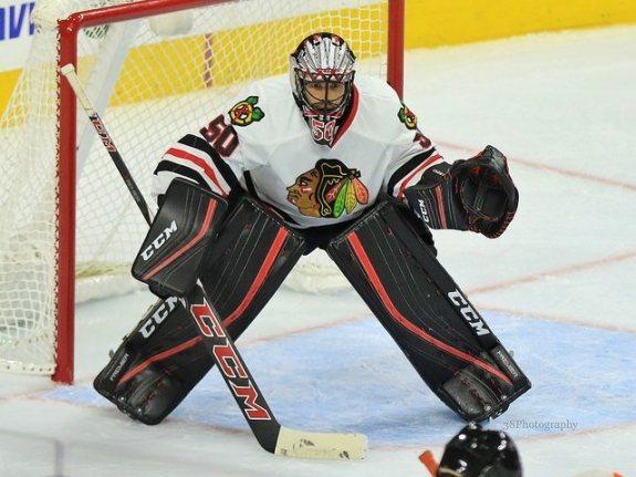 Corey Crawford, Chicago Blackhawks