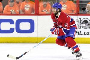 Former Montreal Canadiens forward David Desharnais