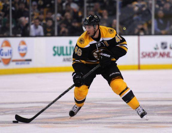 David Krejci, Boston Bruins