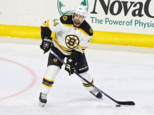 Seidenberg has spent the past six and a half seasons with the Bruins. (Amy Irvin / The Hockey Writers)
