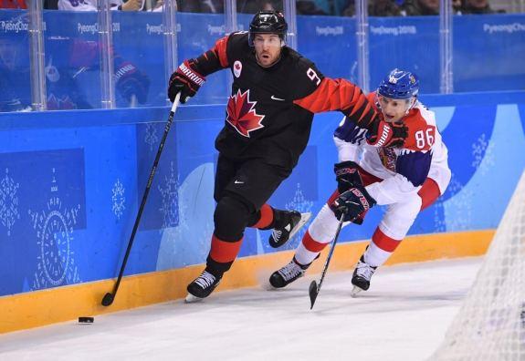 Canada forward Derek Roy