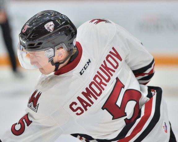 Dmitri Samorukov, Guelph Storm, NHL Entry Draft
