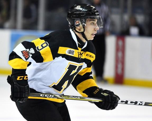 Nathan Dunkley, Kingston Frontenacs, OHL