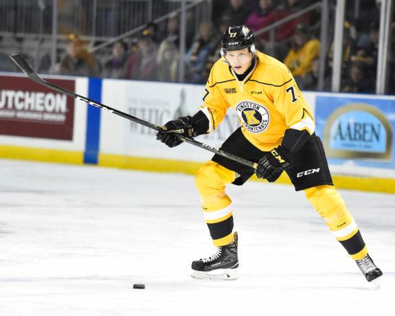 Eemeli Rasanen, Kingston Frontenacs, OHL, Toronto Maple Leafs