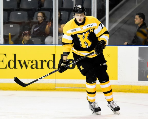 Eemeli Rasanen, Kingston Frontenacs, OHL, Toronto Maple Leafs