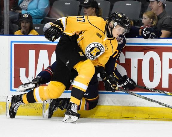Eemeli Rasanen, Kingston Frontenacs, OHL, NHL Draft