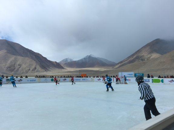 Highest Altitude Hockey Game Game