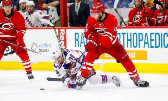 Hurricanes Excellently Extend Slavin