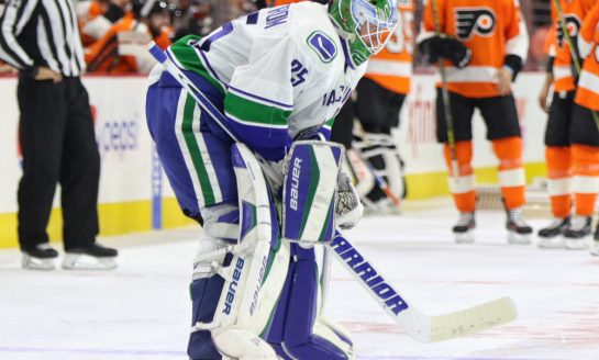 Canucks 'X' Factors: Jacob Markstrom