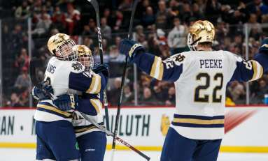 Frozen Four Final: Notre Dame & Minnesota-Duluth