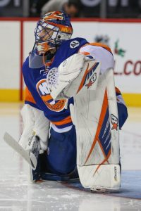 The Isles have to hope Halak - and Greiss - continue to play well in the second half. (Anthony Gruppuso-USA TODAY Sports)