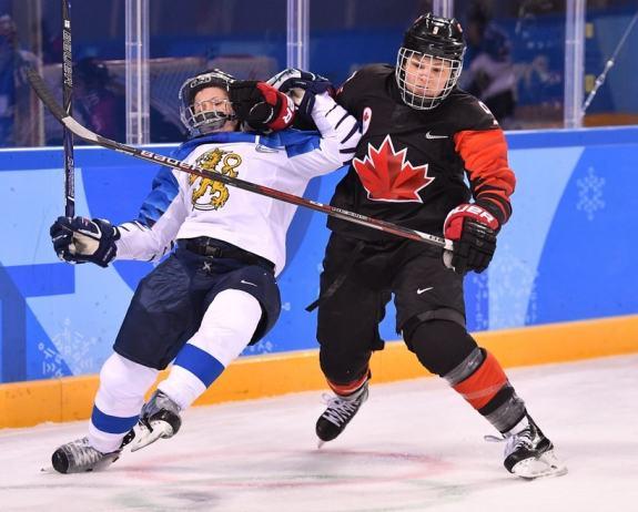 Jennifer Wakefield Team Canada