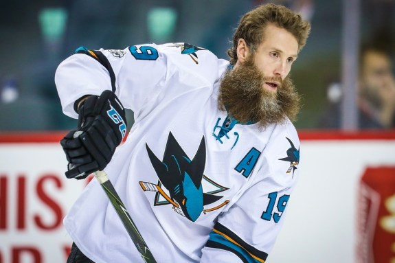 Joe Thornton Sharks 2017