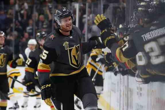 Jon Merrill, Vegas Golden Knights, Expansion Draft