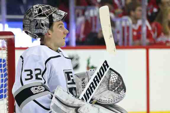 Los Angeles Kings goalie Jonathan Quick